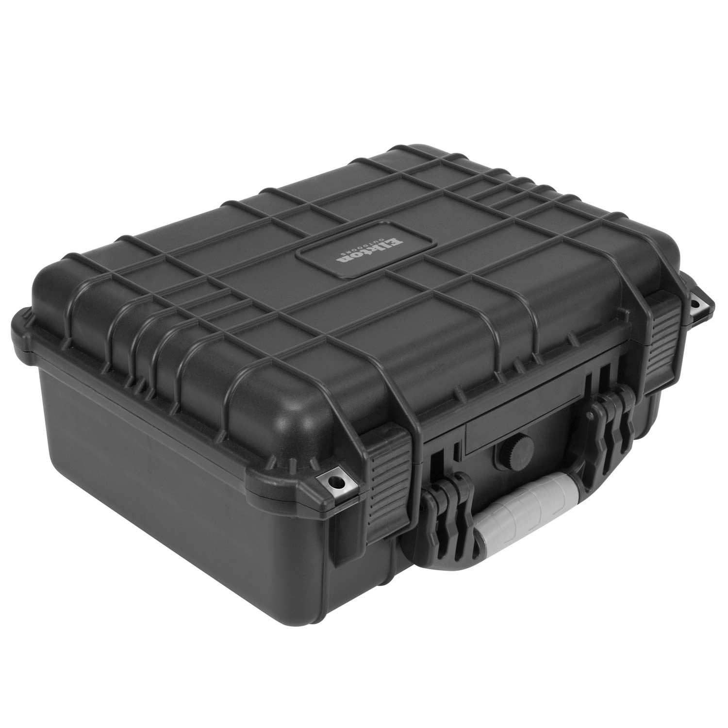 Elkton Outdoors Hard Gun Case: Fully Customizable Pistol Case: Holds 4 Handguns and 8 Magazines: Crush Resistant & Waterproof! by Elkton Outdoors (Image #3)
