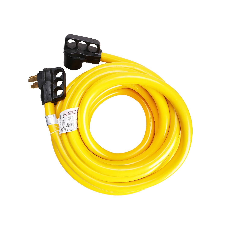 EPICORD RV Extension Cord 50Amp with Grip Handle Plug, 36FT, 125/250V by EPICORD-TREK POWER