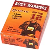 Body Warmers Large Pads with Adhesive Backing Gives 12 Hours Warm (5.1''×3.7'', 10 Packs) for Women Men Kids, Big Heat Sticker for Camping Hiking