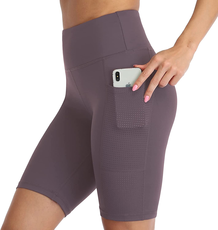 UURUN High Waist Biker Shorts for Women 8