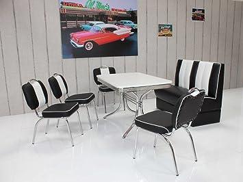 Dreams4Home Sitzgruppe U0027Vongas IIu0027   Set, Essgruppe, Sitzgruppe, 4 Stühle,