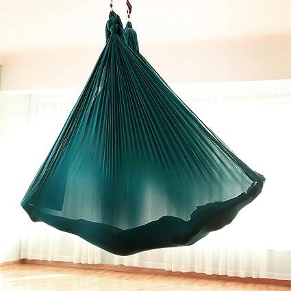 Amazon.com: Tofern - Hamaca voladora para yoga, trapecio de ...