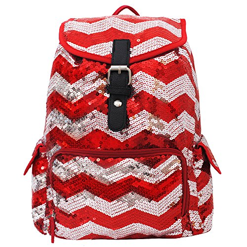 Chevron Sequins NGIL Large Backpack (Chevron Sequin Backpack)