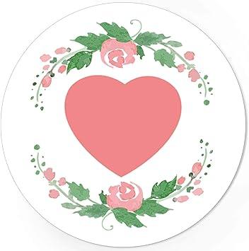 48 Aufkleber Sticker Vintage Etiketten Hochzeit Geschenk Valentinstag Herz Rose