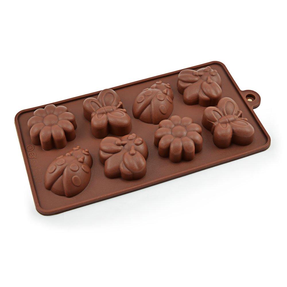 marca Ganzoo rosa cioccolato biscotti decorazione torta Stampi in silicone//forme per caramello zucchero glassa marzapane torta