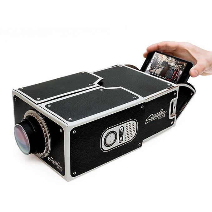 Cooler color cartón Smartphone proyector handy-proyector móvil ...