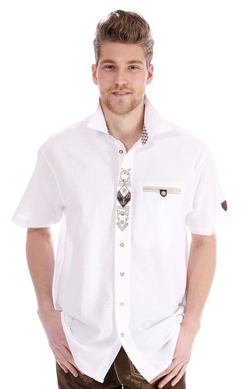 Orbis Trachtenhemd 721034-1011-01 weiss