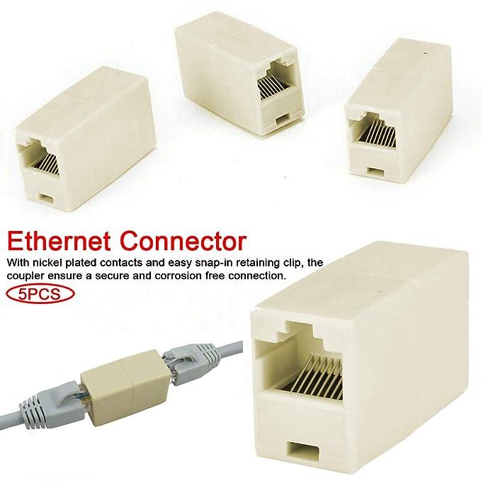 RJ45 D-type Module Socket Cable Female Signal Connector Cat6 Panel Mount Network