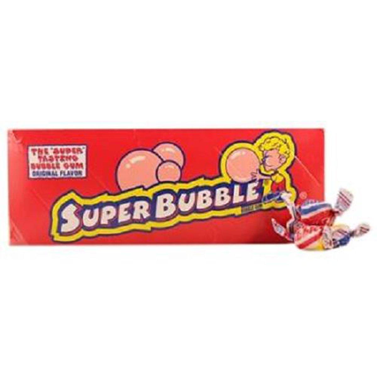 Super Bubble, Bubble Gum Original, Count 300 X 2 (Package Quantity 2) Gum - (Buy Bulk at a Wholesale Price)