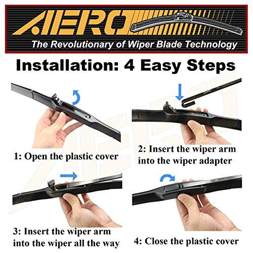 OEM-QUALITY-22-19-AERO-Premium-All-Season-Windshield-Wiper-Blades-Set-of-2