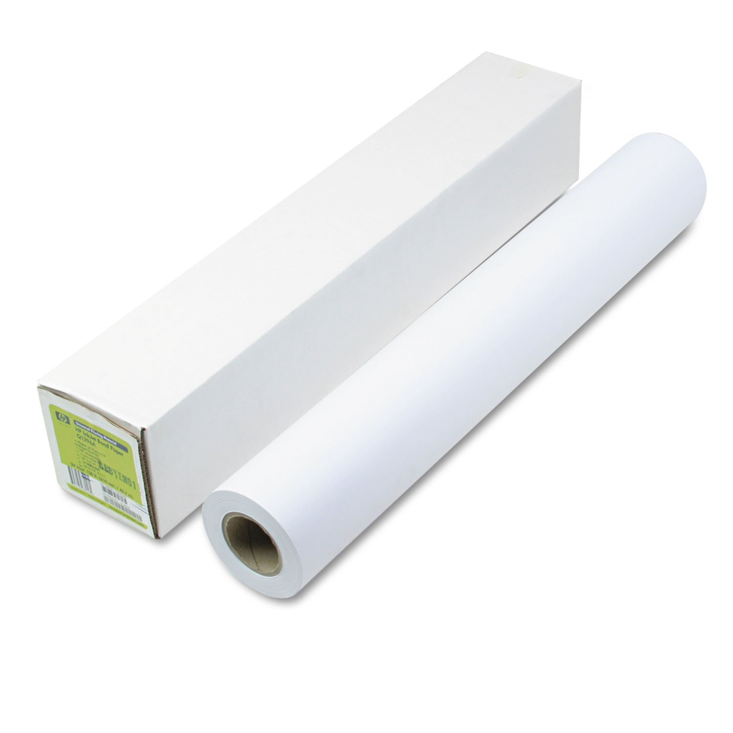 HP Q1396A Universal Bond Paper,24''x150',21lb,96 GE/110 ISO,White by HP