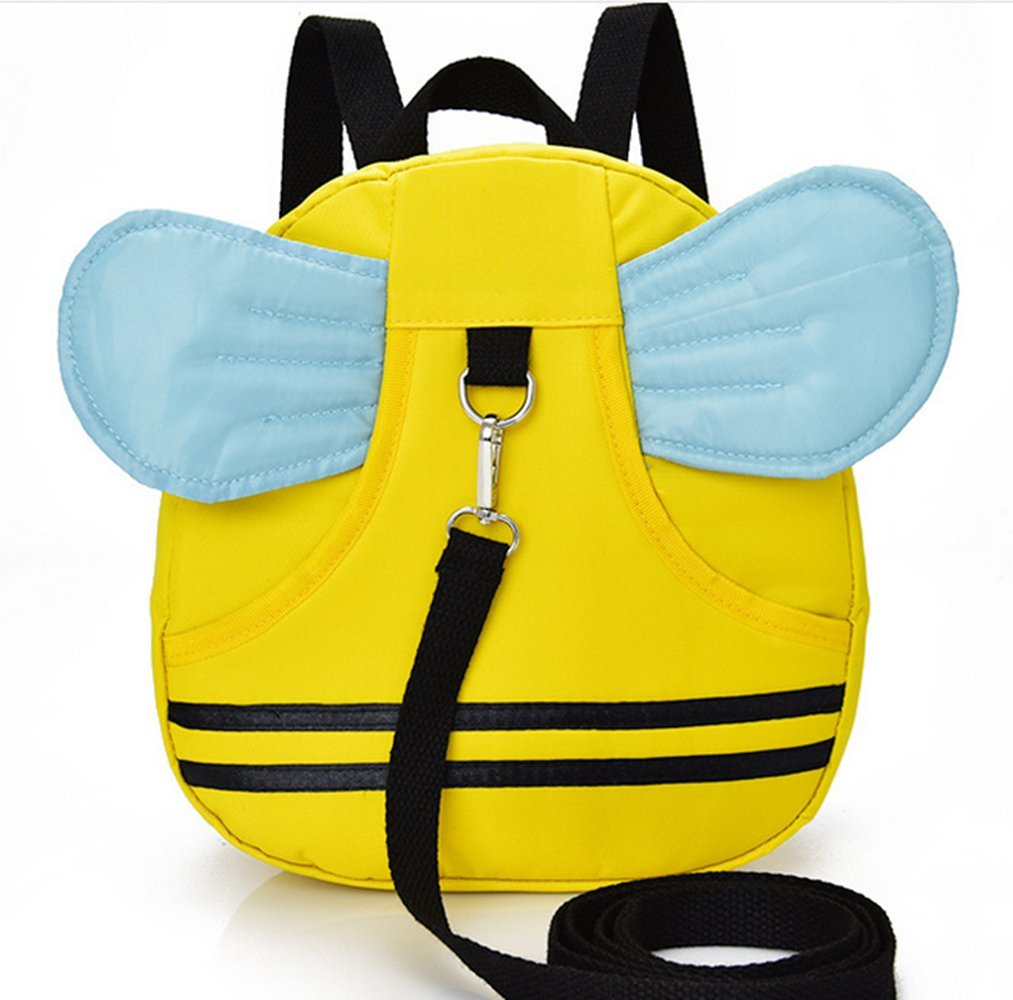 Hi 8 Store Baby Toddler Safety Harness Backpack Strap Cute Cartoon Rucksack Walker Rein (Yellow Bee) Aardman HY-1410
