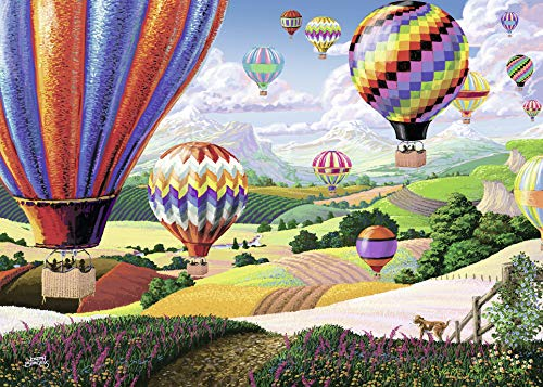 Ravensburger Brilliant Balloons Large Format 500 Piece Jigsaw Puzzle for Adults – Every Piece is Unique, Softclick Technology Means Pieces Fit Together Perfectly (Piece Hundred Five)