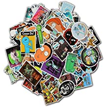 Rick And Morty stickers-135 Pcs Xawy Laptop Stickers Motorcycle/Bicycle/Skateboard Stickers, Luggage Decal Car Sticker Pack