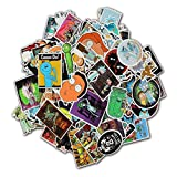 135 Pcs Laptop Stickers Rick And Morty stickers Motorcycle/ Bicycle/ Skateboard Stickers, Luggage Decal Car Sticker Pack, Laptop Decal ,Rick and Forty sticker Pack