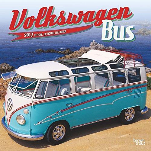 Volkswagen Bus 2017 Wall Calendar