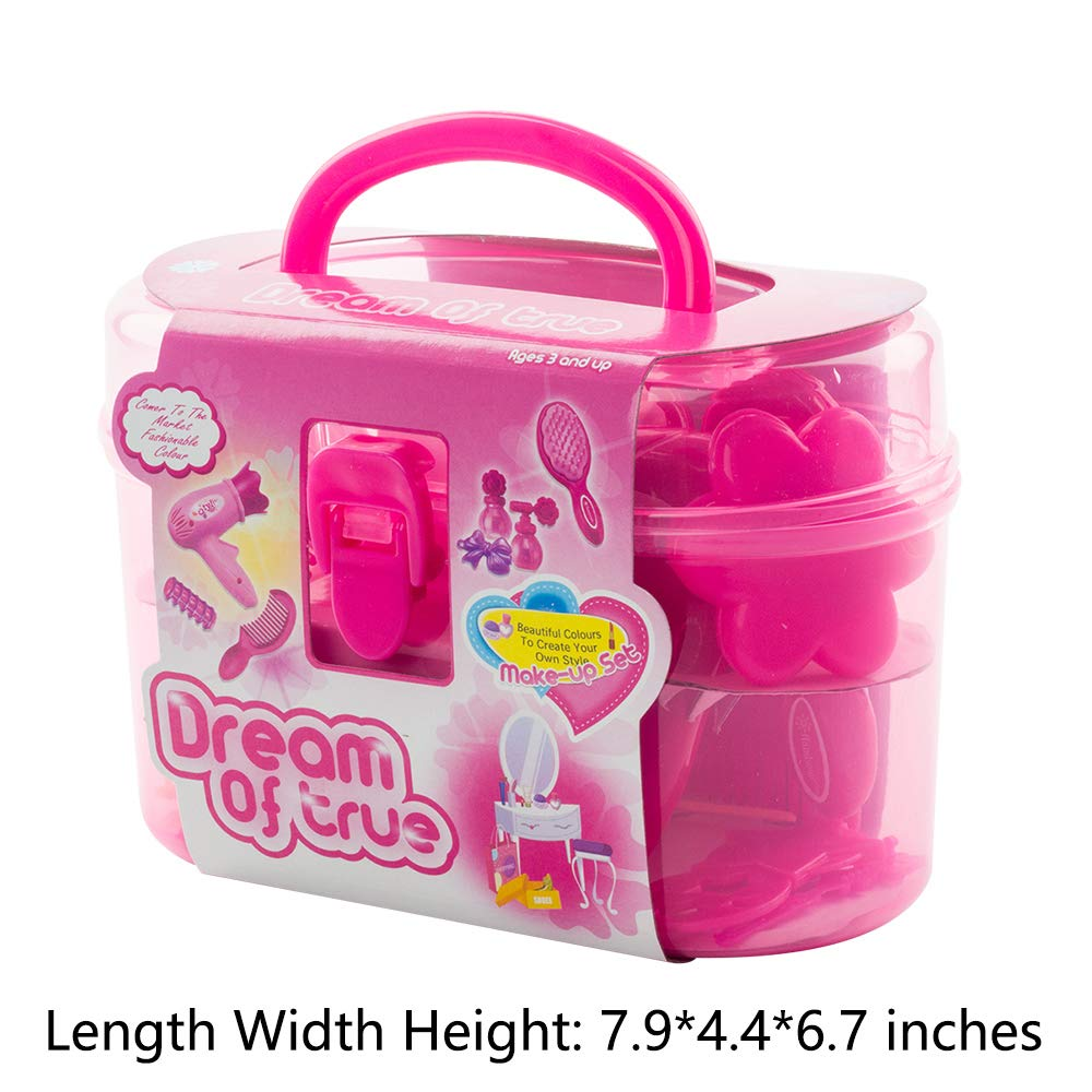 Amazon.com: Set de salón de belleza para niños, juguetes ...