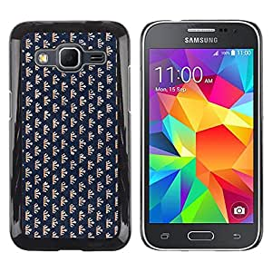 MOBMART Carcasa Funda Case Cover Armor Shell PARA Samsung Galaxy Core Prime - Tiny Tree Crown Patterns