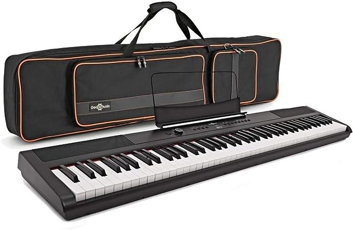 Set de Piano de Escenario SDP-2 y Funda de Gear4music