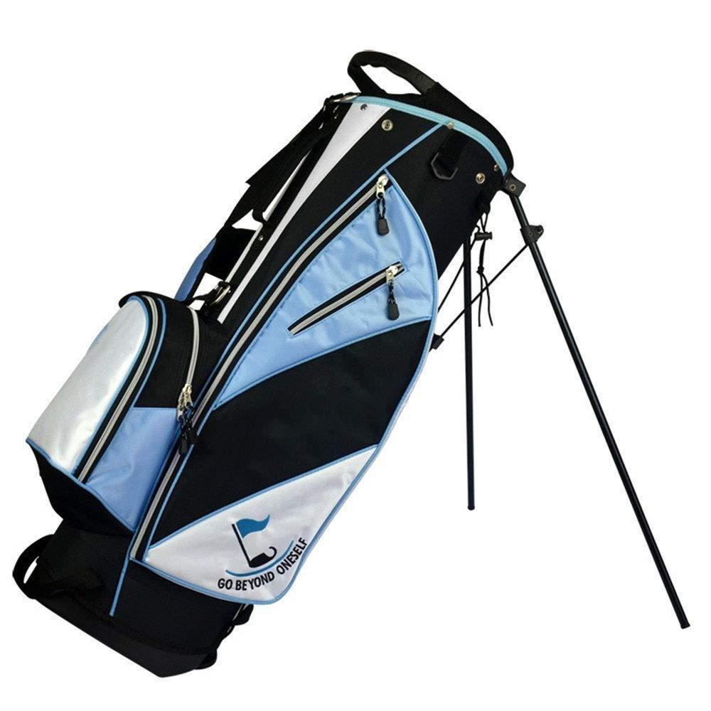 レディースゴルフバッグ防水丈夫なメンズゴルフキャリーバッグ大容量ゴルフカートバッグ軽量ゴルフトラベルケース (色 : 青, サイズ : 86*27*35cm) 86*27*35cm 青 B07RWVY5C7