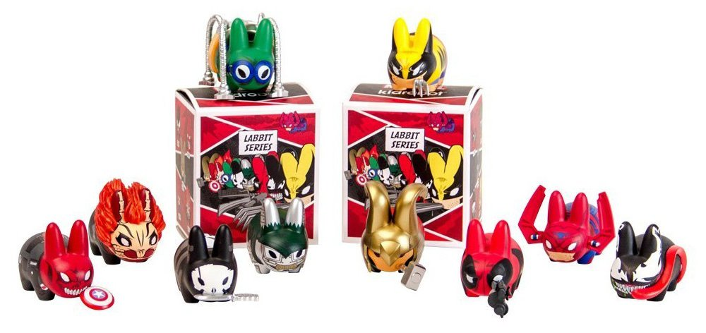 kidrobot Marvel Labbit Series 1 - Sealed case (20 blind boxes)