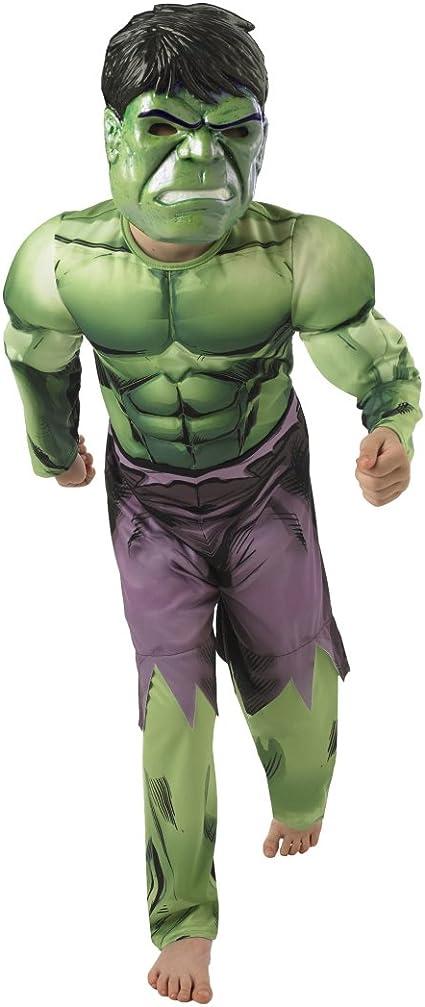 Disfraz infantil de Hulk superhéroe músculo para disfraz de ...