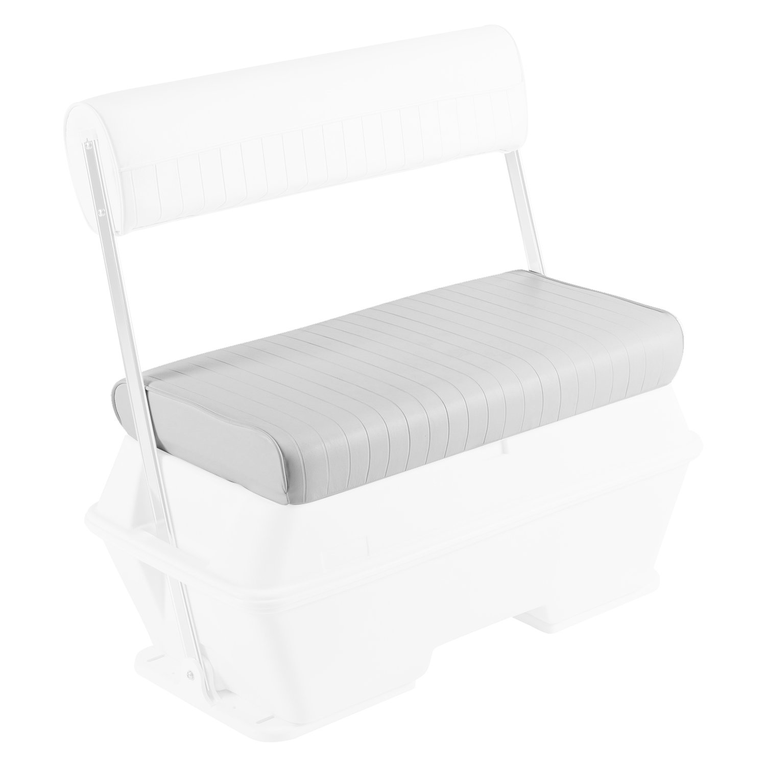 Wise Replacement Seat Cushion for Wise 8WD156-710 Swingback Cooler Seat, White