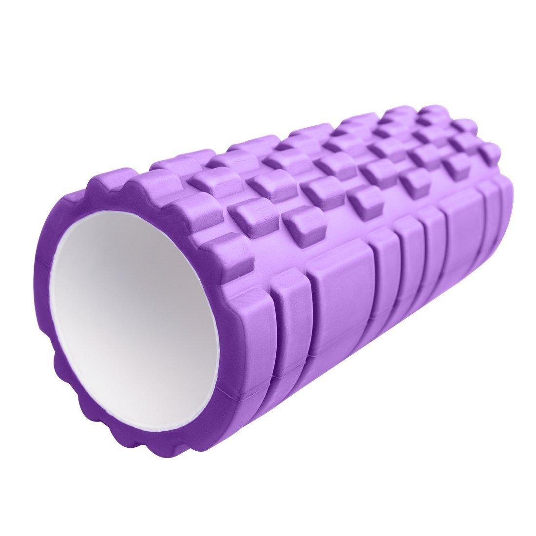 Kabalo 1 x Púrpura con textura de puntos gatillo ejercicio / Yoga Rodillo de espuma para gimnasia, Pilates, Physio - equipos de gimnasio en casa!