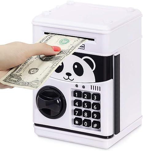 Refasy Kids ATM Caja Fuerte electrónica para Monedas para niños ...