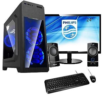 PJ AMD Bronze | PC Desktop montado completo | Computer fijo A4 7300 4 GHz Turbo ...
