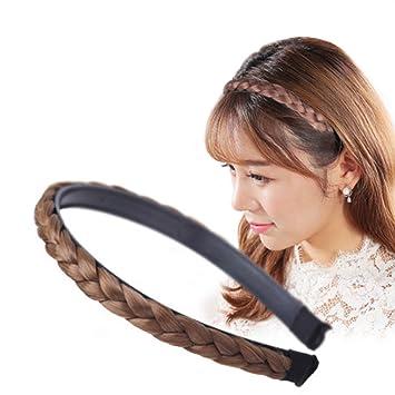 Womens Girls Wig Headband Hairpiece Hairband Head Band Hair Accessories