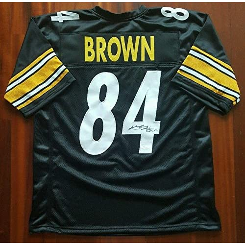 online store 0bc01 0a87b Antonio Brown Signed Jersey - JSA Certified - Autographed ...