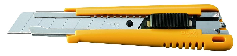 Olfa 202201 Cú ter Multiusos con Cuchilla de 9 mm y Bloqueo automá tico A-1