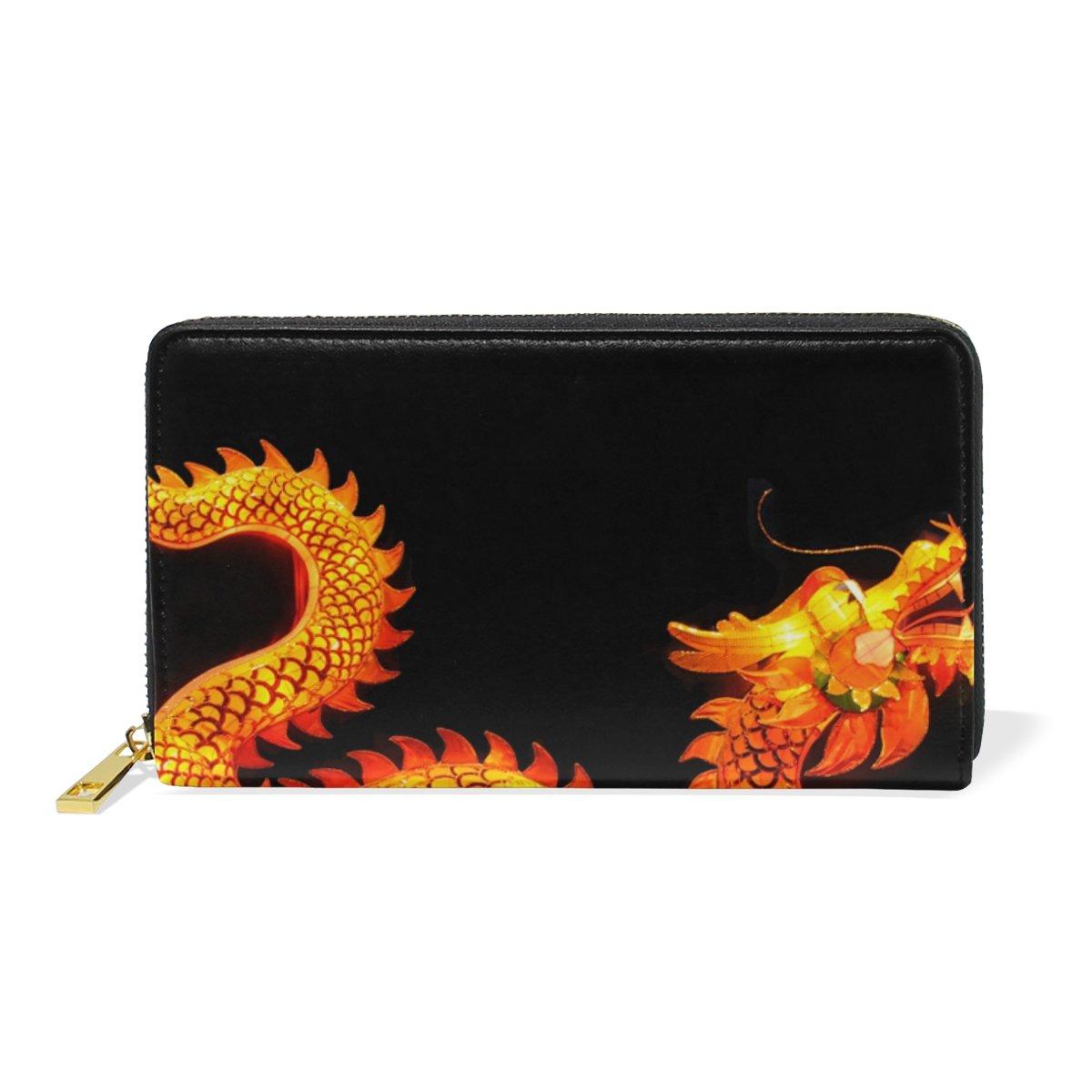COOSUN China Leather Linterna del dragón del monedero del ...