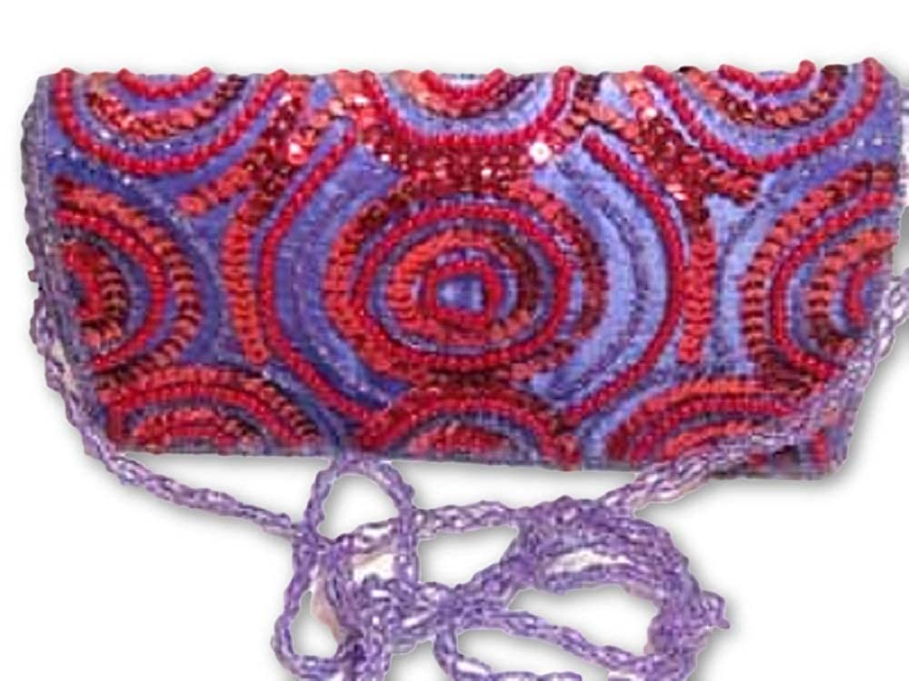 Red Hat Ladies Society Dream Evening Bag #1// Red and Purple Great Deals Red Hat Lady Society//Bag//Red /& Purple