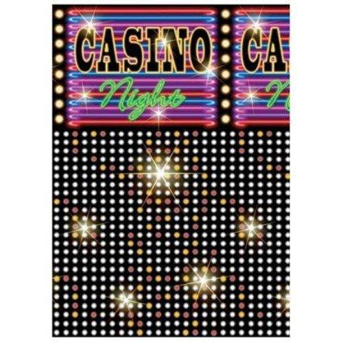 Casino Lights Room Roll 40 Ft