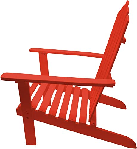 36.6″ Poplar Wood Adirondack Chair