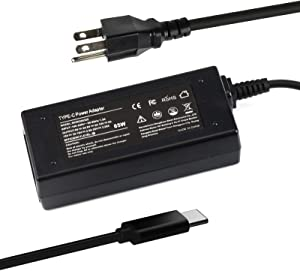 4X20M26268 4X20E75131 4X20M26252 4X20E75132 ADLX65YDC2A ADLX65YCC2A ADLX65YLC2A ADLX65YLC3A GX20M33579 GX20P92530 X1 Carbon 5th 6th 7th Gen Charger 65W 45W USB C AC Adapter for Lenovo Laptop