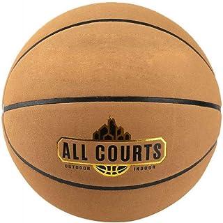 C.N. Basket-Ball n ° 7, école Primaire Anti-dérapante pour Enfants, Basket-Ball spécial,Marron,Numéro 7