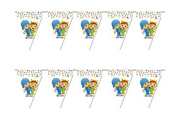 ALMACENESADAN 0692, Pack 2 banderines Pocoyo y Nina, 3 ...