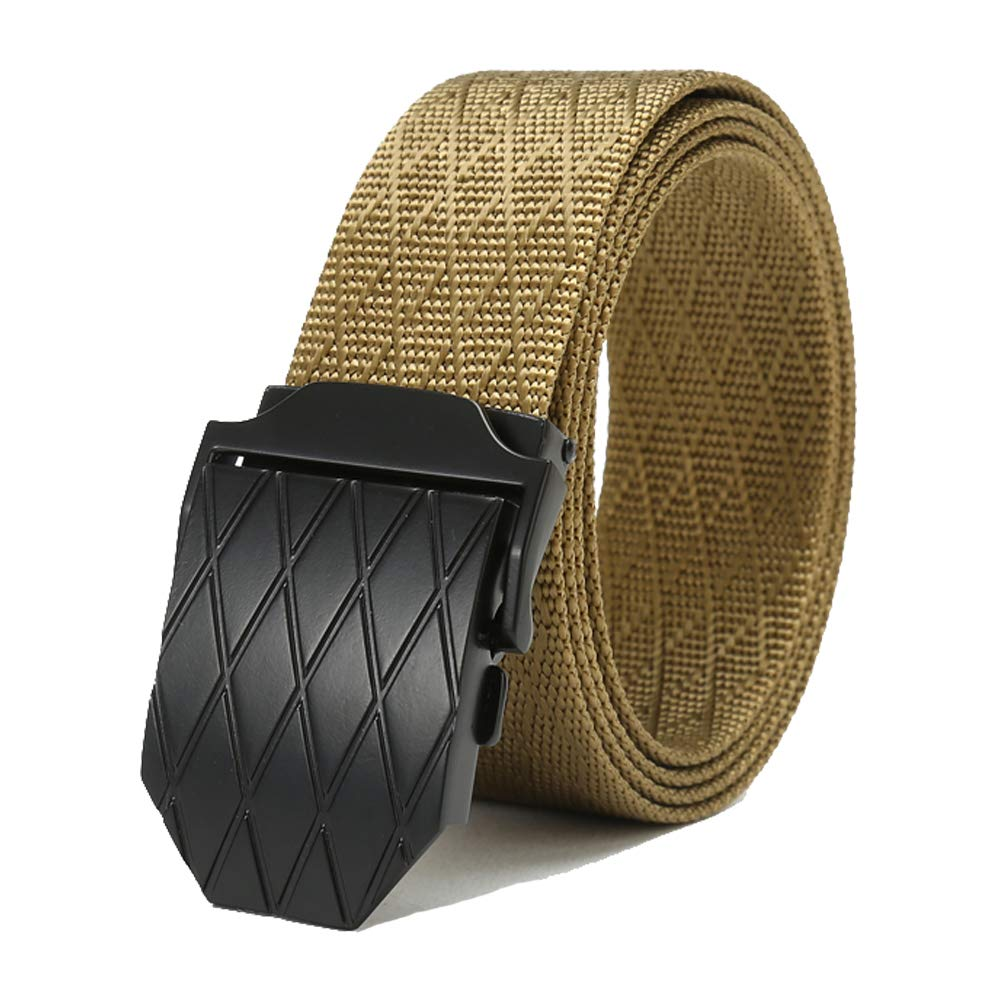 mens and womens casual style nylon belt Anti-allergic YKK plastic steel buckle