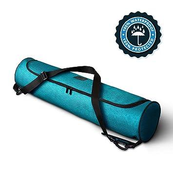 Life Balance Yoga Mat Bag, Full-Zip, Waterproof Sturdy Canvas with Adjustable Shoulder Strap. Yoga Strap, Yoga Mat Bags and Carriers, Yoga Mat ...