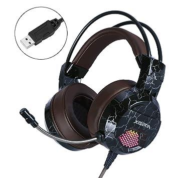 NUBWO PS4 - Auriculares para Videojuegos con micrófono Mik Mute ...