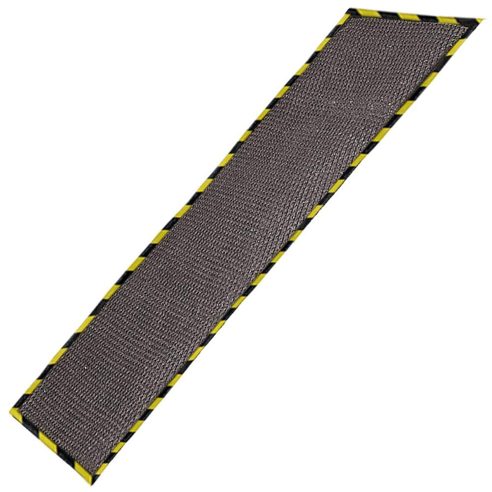 Just Suk It Up.com™ Absorbent Garage Mat with Border and Grid, Grey, 32x102' 32x102 Just Suk It Up Limited