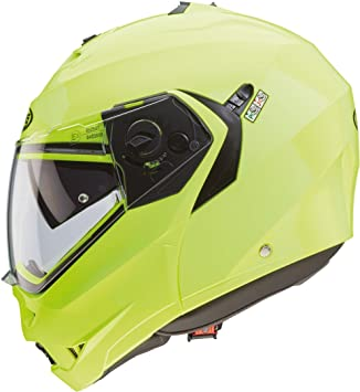 Casco Caberg Duke Hi Vizion II, serie 2, de color amarillo flúor Small amarillo