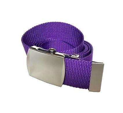9 PM - Ceinture - Homme Violet lilas 115 cm  Amazon.fr  Vêtements et ... 45077a64619