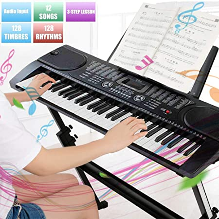 Pelota Shop Piano digital Teclado de 61 teclas Digital de ...