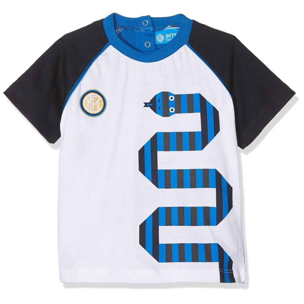ARNETTA FC Inter T-Shirt Neonato Cotone 12//36 Mesi Ufficiale