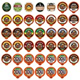 Custom Variety Pack Decaf Flavored Coffee Single Serve Cup for Keurig K cup – 40 Count