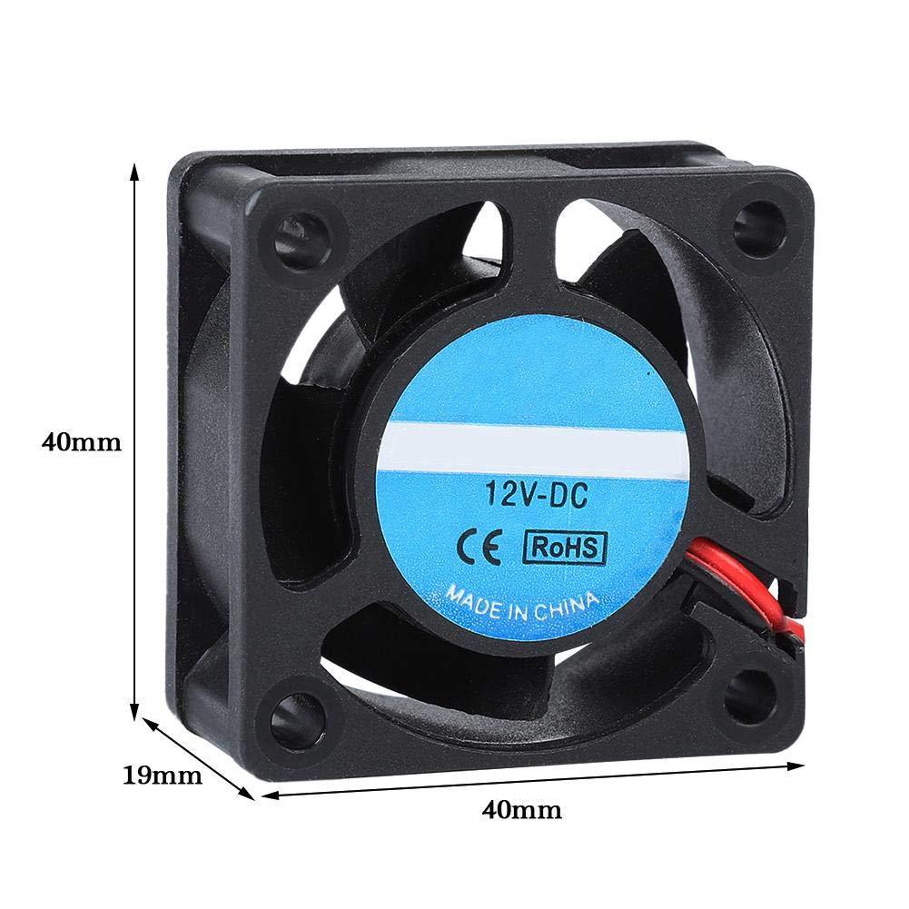 Tangxi Ventilador de Impresora 3D, 40x40x20mm Ventilador de ...